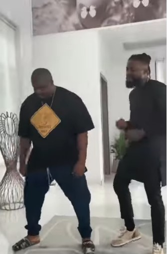 BBNaija: Singer, Michael meets Don Jazzy for the first time