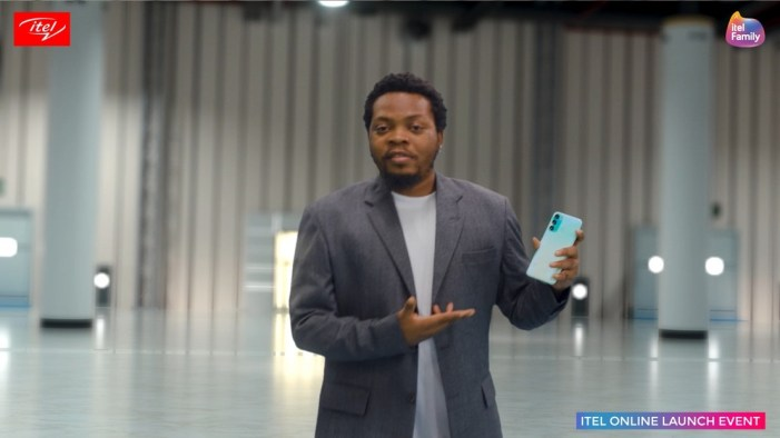 itel S17 Unveiling by Olamide 'Baddo' Adedeji at the itel Online Launch Event