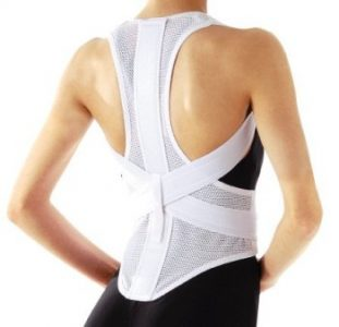 Posture brace, Back Corrector Ease Pain Kyphosis Supporter New Dancing Belt Round Japan