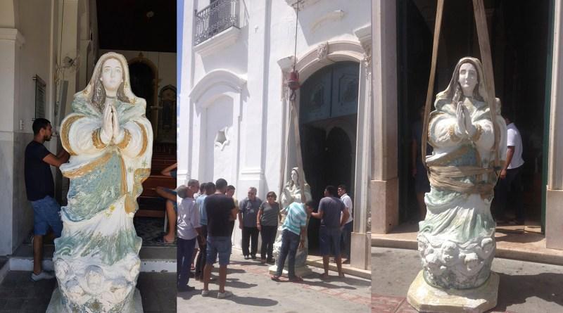 Catedral promove campanha para restauração de imagem de Nossa Senhora da Conceição