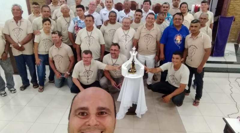 Terço dos Homens da Diocese de Sobral visita Itapipoca