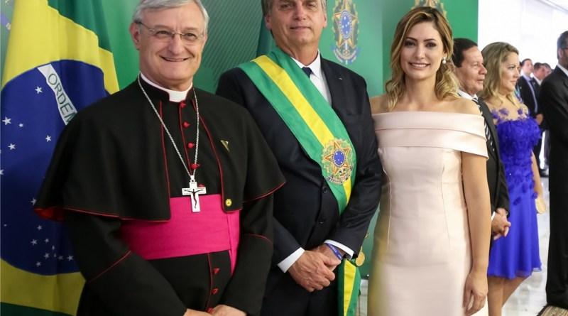 Representante do Papa participa da posse do presidente Jair Bolsonaro