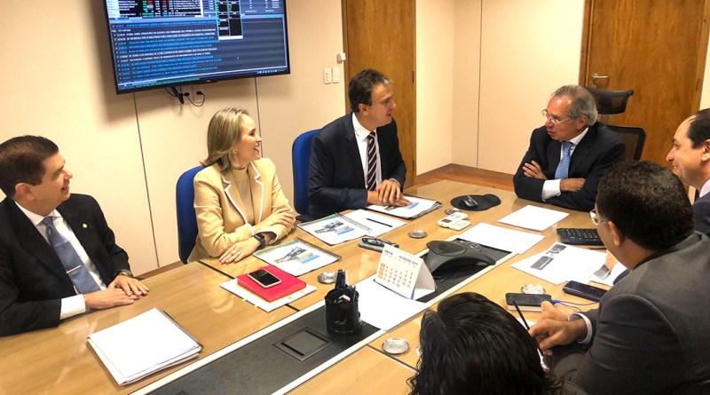 Em Brasília, governador discute investimentos para o Ceará