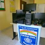 Polícia Civil recupera computadores furtados em Vertente do Lério