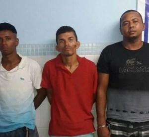Trio é preso suspeito de praticar assalto em Surubim