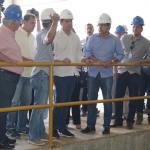 Governador Paulo Câmara visita Barragem de Jucazinho