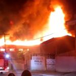 Tragédia que se repete: mais um supermercado é destruído pelas chamas em Surubim