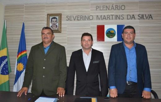 Marcelo Andrade vence eleição para a presidência da Câmara de Casinhas