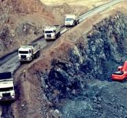 Extração de nióbio em andamento nos arredores de Araxá, cidade situada no sul de Minas Gerais
