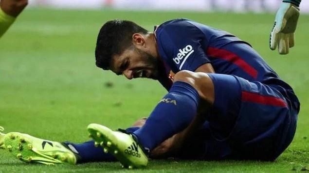 Uruguai perde Suárez por lesão para jogos com Argentina e Paraguai