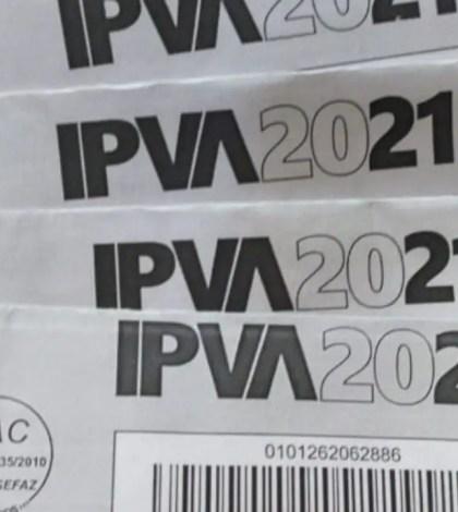 IPVA 2021-Pagar IPVA online