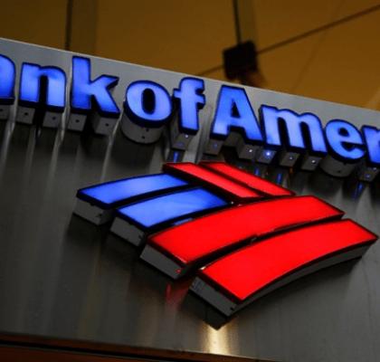 conta bancária-Bank Of America