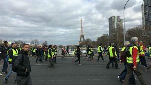 chalecos amarillos-protestas