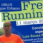Free Running e tertúlia com Luis Pires