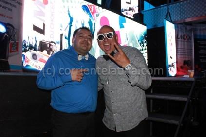 Richard Chiriboga (owner CorrienteLatina.com) / DJ Smiley Miami