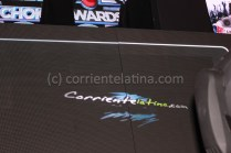 CorrienteLatina.com Nomination on the big screen