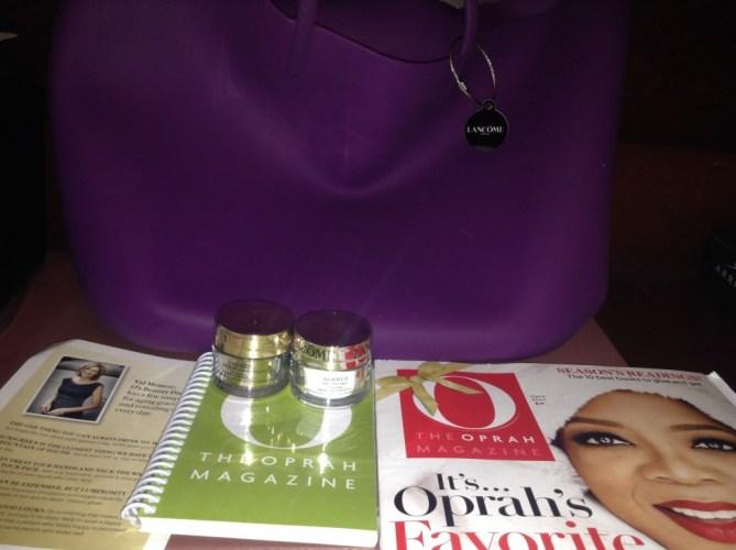 O Magazine and Lancome's Beauty tips with Val Monroe