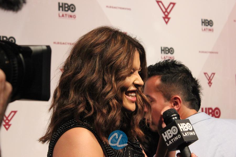 Model Denise Bidot (HBO Latino Interview)