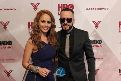 Musician Yandel and wife Edneris Espada Figueroa
