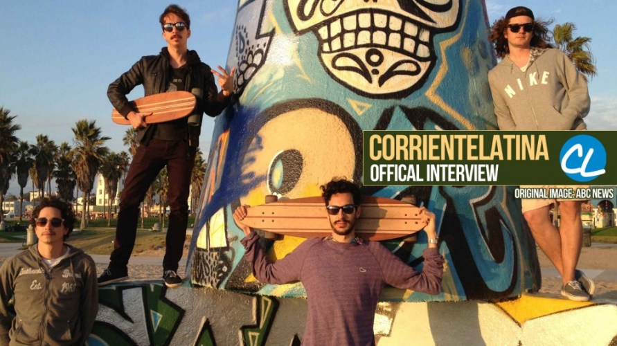 CorrienteLatina Entrevista con Banda Chilena – Astro