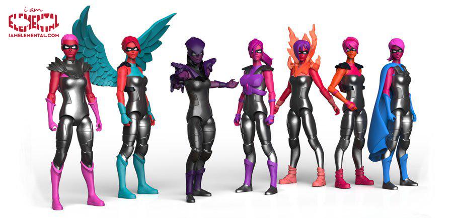 IAmElemental Turns Every Girl Into A Real Life Superhero