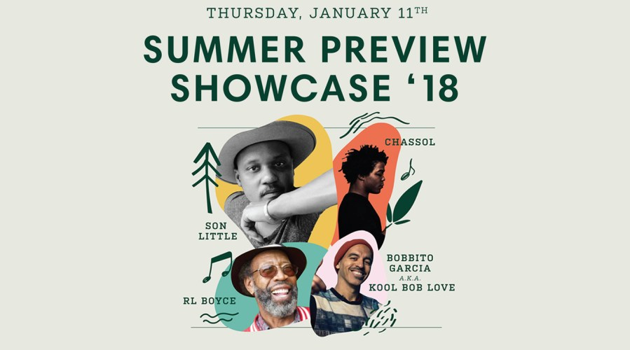 City Parks Foundation's SummerStage & Santa Monica Pier Twilight Concert Series Summer Preview Showcase featuring…