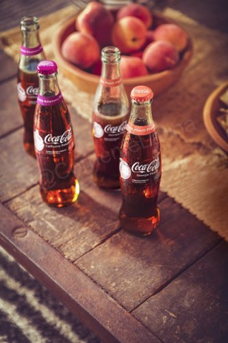 Coca-Cola Launches New Flavors- California Raspberry & Georgia Peach Nationwide