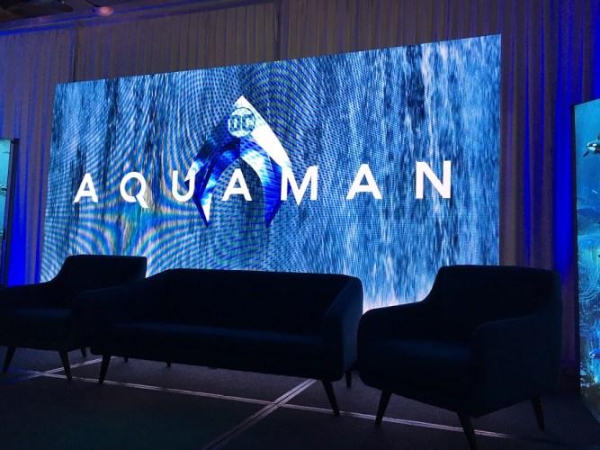 """I thought I'd be playing a villain."" – Jason Momoa | AQUAMAN – NYC Press Conference"