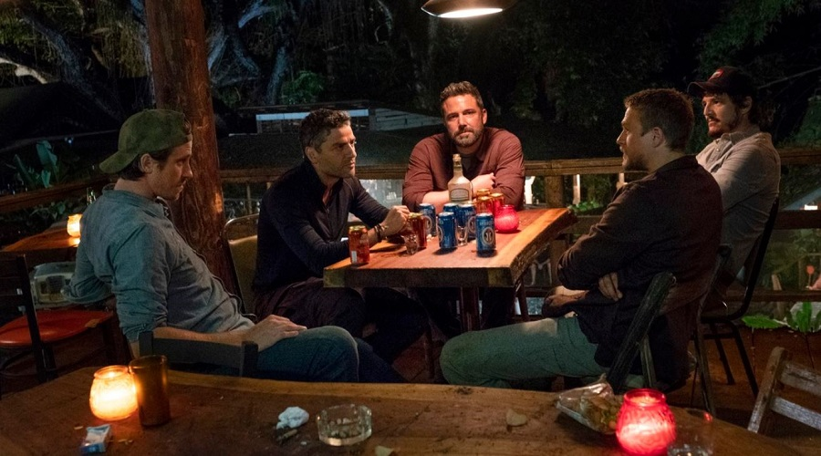 Netflix's TRIPLE FRONTIER | Round-Table Interviews (3.3.19)