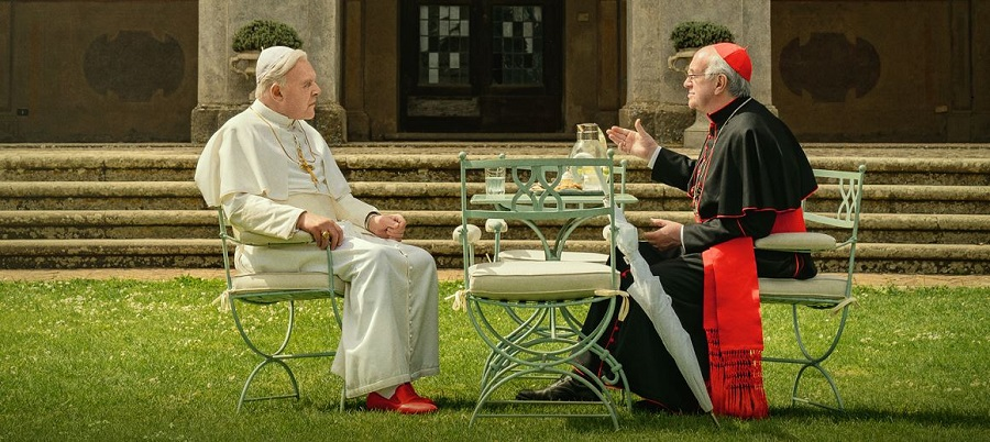 Anthony Hopkins & Jonathan Pryce are THE TWO POPES | Teaser Trailer & Poster