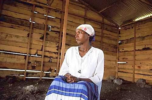 Dativa Twisenge, 22 anni, aggredita due volte (foto Alfredo Falvo)