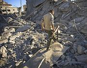 Macerie a  Gaza (Ap)