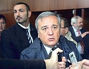 Il ministro del Welfare Maurizio Sacconi (Newpress)
