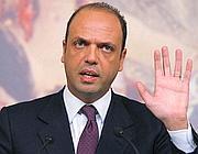 Il ministro della Giustizia, Angelino Alfano (Eidon)