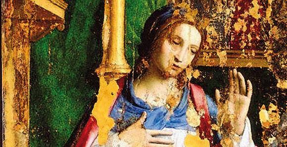 Un'immagine del dipinto acquistato in un'asta a Monaco di Baviera