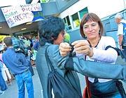 Lutto al braccio nel primo giorno di scuola (Benvegnù)