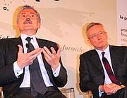 Massimo D'Alema e Giulio Tremonti (Imagoeconomica)