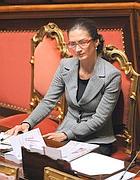 Il ministro Gelmini (Olympia)