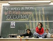 Occupazione all' Università La Sapienza - (Vincenzo Tersigni / Eidon)