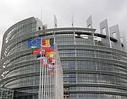 La sede del parlamento europeo a Strasburgo (Als)