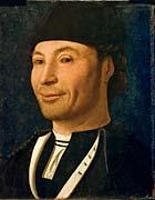 Ritratto di ignoto, tavola (30,5x 26,3 cm) di Antonello da Messina alla Fondazione Mandralisca