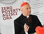Il cardinal Angelo Bagnasco, presidente della Cei (Ansa)