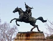 Roma, il monumento ad Anita Garibaldi