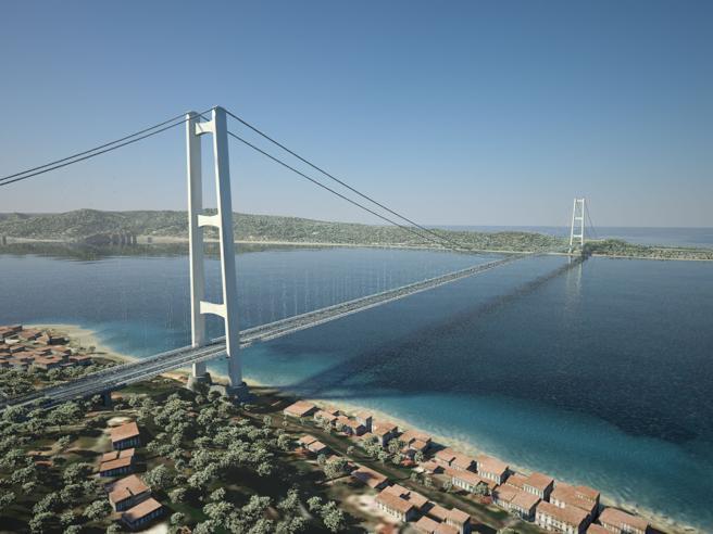 Ponte sullo Stretto, il progetto (pronto) che non si farà nemmeno con i  soldi del Recovery- Corriere.it