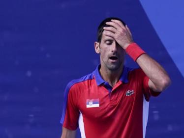 Djokovic spacca la racchetta alle olimpiadi: è una furia e perde il bronzo  contro Carreno Busta- Corriere.it