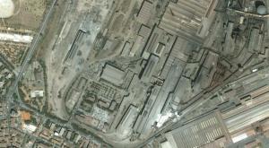 L'area di Città Futura dal Satellite