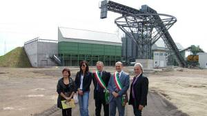 L'inaugurazione della Tap nel 2009 con i sindaci Anselmi e Pioli