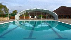 La piscina al Campeggio Albatros
