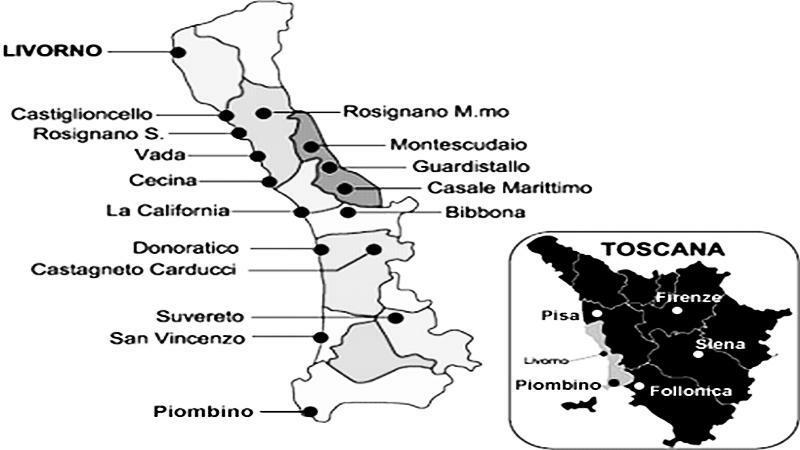 federnuoto toscana livorno map - photo#47