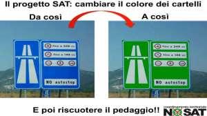 No SAT autostrada